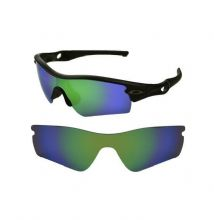 NEW POLARIZED GREEN CUSTOM LENS FOR OAKLEY RADAR PATH SUNGLASSES